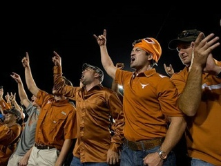 Texas Longhorns fans