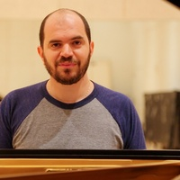 3 Kirill Gerstein prepares piano for Houston Symphony performance September 2013
