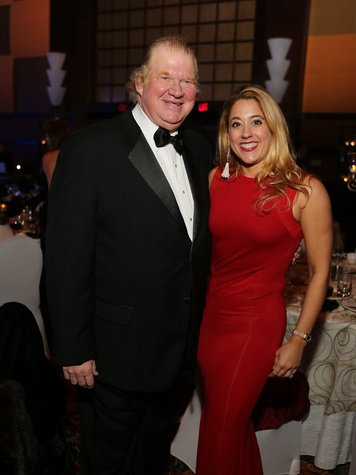 Paul and Kristina Somerville at the Winter Ball January 2014