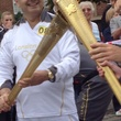 Dr. William Zoghbi, Olympic torch, July 2012