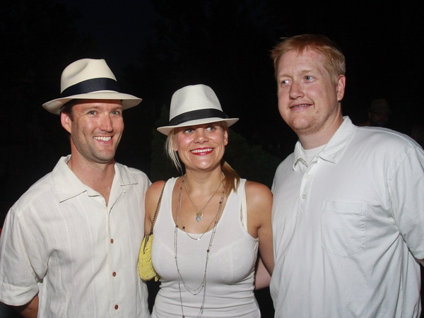 Havana nights, July 2012, Scott Hutson, from left, Liz Gorman and Stephen Jones