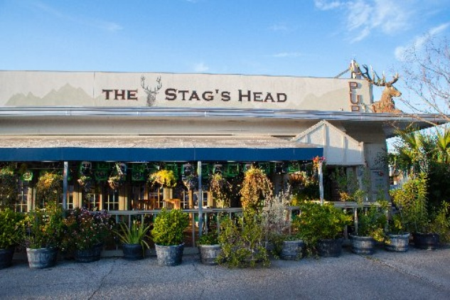 The Stag's Head Pub exterior