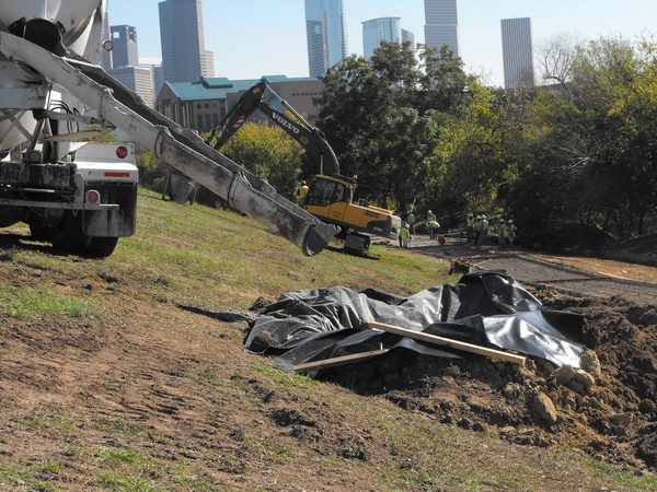 News_Buffalo Bayou enhancements_construction