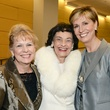 Patricia Crocker, Virginia Chandler Dykes, Dr. Carine Feyten, TWU Celebration