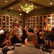 Davon, Champagne Friday, Veuve Cliquot dinner, October 2012, Room with a Veuve, crowd, The Tasting Room Uptown, venue