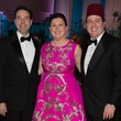 Jim Nelson, from left, Shawn Stephens and Jim Jordan at the Houston Ballet Ball February 2014