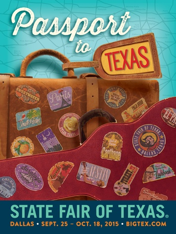 2015 State Fair of Texas poster