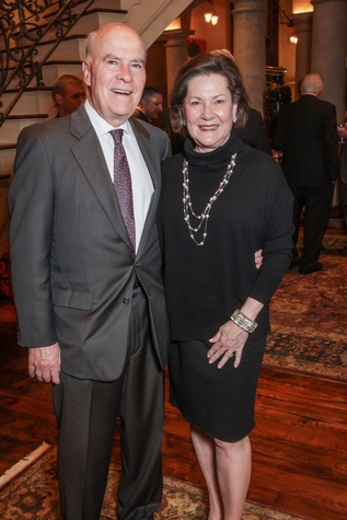 Men of Distinction dinner, Feb. 2016, Joe Hafner, Merill Hafner