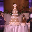 Nadine of Who Made the Cake! February 2014 with cake and Steve Harvey