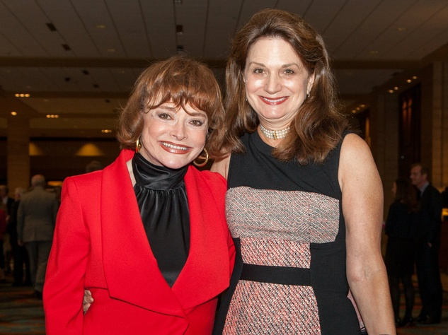 Carole Lou Bruton, Karol Bruton at Living Legend Luncheon with George W. Bush