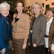 Gloria Byrd, Nancy McMenamy; Deborah Taper, Karen Zapata, TWU Celebration