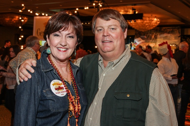 212 Liz and Robert Rigney at Camp for All Gala March 2014