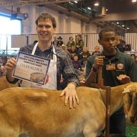RodeoHouston, goat milking contest, February 2013