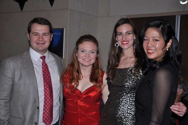 Joe Fleming, Lauren Gilmore, Alexis Ettinger, Mandy Yue, Ars Lyrica NYE 2013