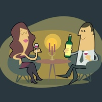WinePoynt app cartoon