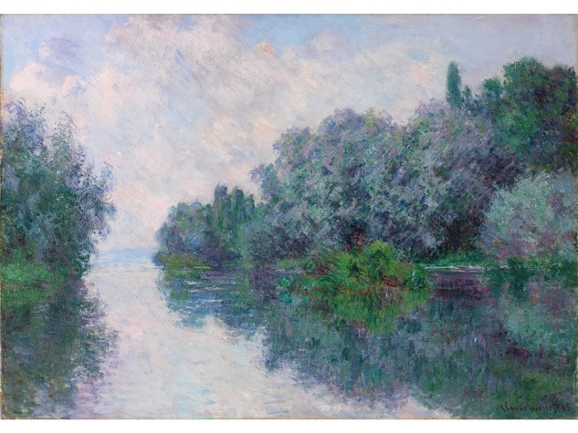 MFAH Monet and the Seine Impressions of a River October 2014 Claude Monet - The Seine at Giverny