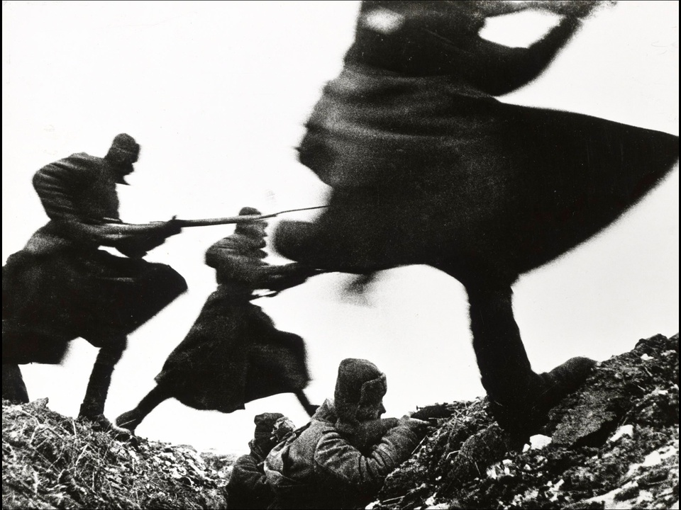MFAH, War-Photography, November 2012, Baltermants - Attack--Eastern Front WWII