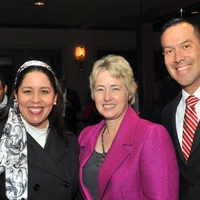 8, Hispanic Advisory Board party, December 2012, Grace Olivares, Mayor Annise Parker, Bo Fraga