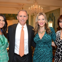 4 Marianellys Noble, from left, Paul Posoli, Sally Lechin and Karina Barbieri at the Latin Women's Initiative Luncheon October 2014