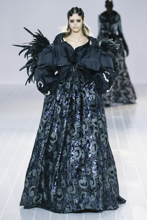 Marc Jacobs fall 2016 gown look 59