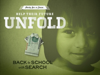Back to school with SEARCH banner