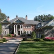 mansion for sale 4890 Serene Shores Drive Gainesville, Ga. exterior front day