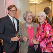 74 Kris Stuart, from left, wth Tom and Barbara Solis at the Blaffer Gala May 2014