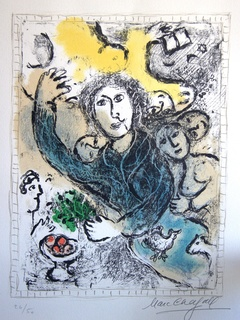 """The Artist"" by Marc Chagall"