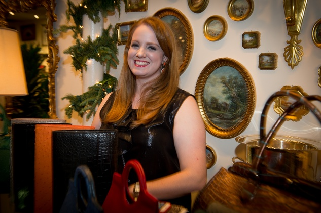 58 Holly Thompson at the Valobra Pin Oak holiday party December 2014