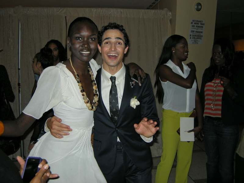 Clifford, Fashion Week spring 2013, people, September 2012, Alek Wek, Zac Posen