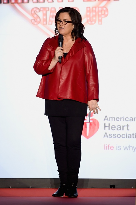 25 Clifford New York Fashion Week Fall 2015 Go Red for Women February 2015 Rosie O'Donnell