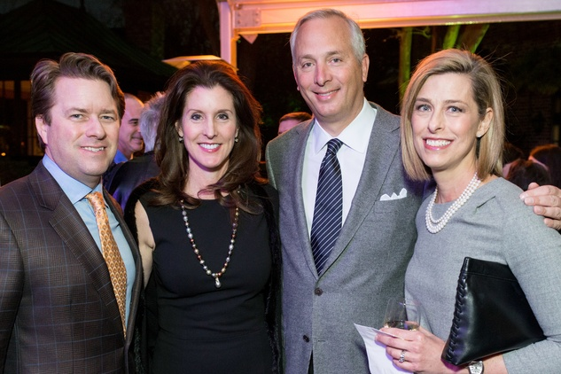 News, Shelby, Men of Distinction kick-off, Feb. 2015, Michael Mithoff, Phoebe Tudor, Bobby Tudor, Susan Lawrence