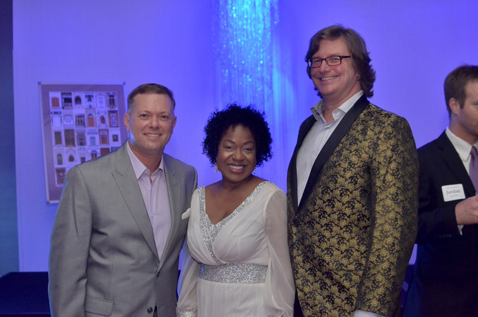 best party everCommittee Member Darin Upchurch, Event Co-Chair Toya Haley and Stephen Bell