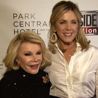 Deborah Norville and Joan Rivers