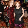 Carol Sawyer, left, and Nancy Dinerstein at the Citizens for Animal Protection Gala November 2013