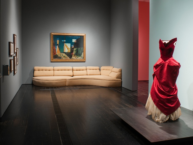 6129 Charles James exhibit at the Menil June 2014