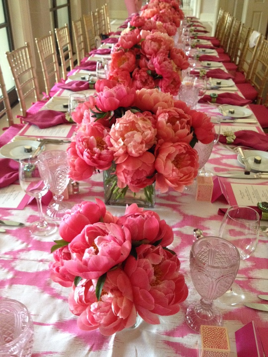 News, Shelby, Peonies Tabletop, July 2015