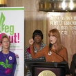 Recipe 4 Success VegOut Press Conference with Annise Parker