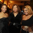 168 Iris Jackson, from left, Carolyn Scantlebury and PJ Douglas Sands at the UNCF Gala November 2013