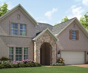 The Tuscany model home in Northwest Fort Worth