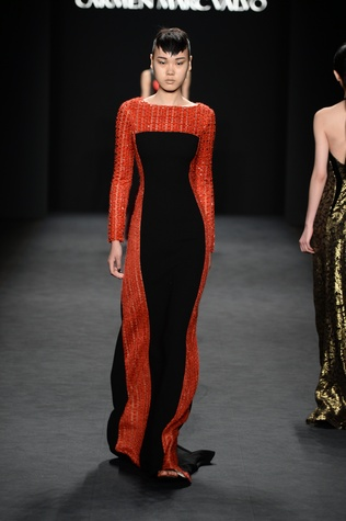 Carmen Marc Valvo fall 2014 collection