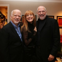 News, Shelby, Alley Theatre Holiday Party, December 2014, Gregory Boyd, Gracie Cavnar, Bob Cavnar
