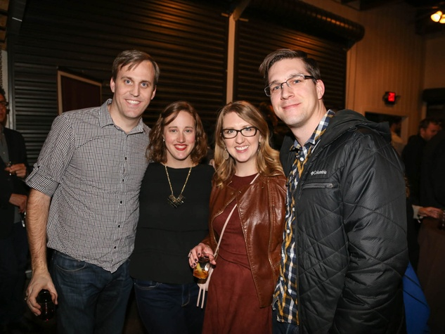 School of Bourbon February 2016 Preston Babb Whitney Babb Shaina Novetny Dan Hervenden