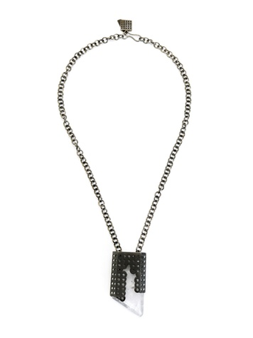 News_Kelly Wearstler_Perforated Quartz Pendant