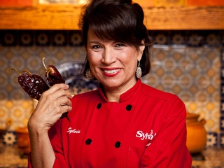 Sylvia Casares of Sylvia's Enchilada Kitchen head shot