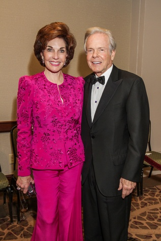 17 Sherry and Jim Smith at the Houston Baptist University Lou Holtz dinner November 2014
