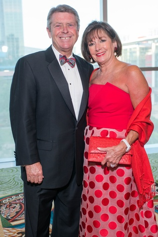 Memorial Hermann Gala 5/16 Joe Cleary, Cathy Cleary