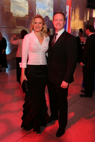 Christie and Billy McCartney at the Museum of Natural Science Gala March 2014