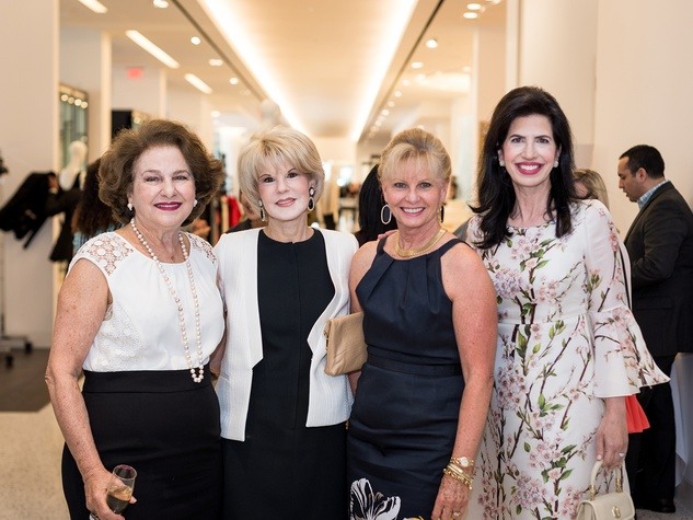 3 Joann Crassas, from left, Virginia Steppe, Linda Rogers and Dr. Kelli Cohen-Fein at the Foundation for Teen Health Tootsies luncheon September 2014