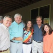 Joe Cleary, from left, Graham Baker, Donna and Mark Henry and Gloria and Mark Tressler Houstonians in Park City Utah August 2014
